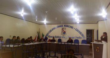 Câmara Discute a lei de diretrizes orçamentarias de 2018 (LDO 2018)